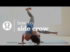 how to side crow It has been 3 years coming to this pose. The trip has been wonderful, everything has a purpose!