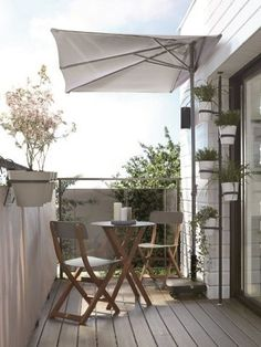 38 Small Terrace Design Projects to Maximize Your Small Space Exterior Remodel, House Styles, Balcony Decor, Garden Lighting Design, Terrace Design, House, Interior Balcony, Home Decor, Clearance Outdoor Furniture