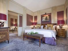 ... spacious rooms with classic designs and luxury furnishings... ***** Hotel Principe Di Savoia, Milan, Italy