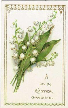 イースター 鈴蘭のお花