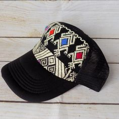 4d251f8ef1d Mexican Embroidered Hat - Mexican Baseball Cap - Mexican Trucker Hat - Women  Trucker Hat -