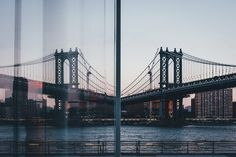 Manhattan bridge by Takashi Yasui