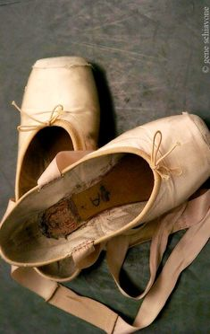 Paloma Herrera's point shoes-Photo Gene Schiavone