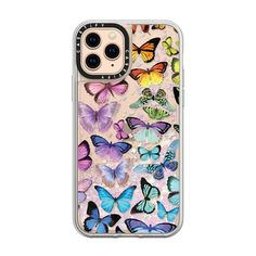 Say hi to the cutest printed cases ever for your iPhone 11 Pro Max. For every Ultra Impact case, we will donate a surgical mask to health workers. Cute Cases, Cute Phone Cases, Iphone Phone Cases, Samsung Cases, Iphone 11, Rainbow Phone Case, Rainbow Butterfly, Apple Watch Models, Gadget Gifts