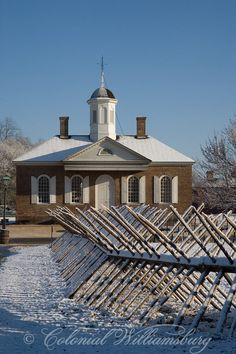 Colonial Williamsburg, Williamsburg, Virginia - the only place you can go back in time to without a TARDIS.