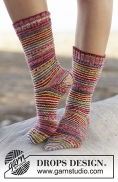 The happiest socks of the year must be these in #DROPSDesign Fabel! #knitting #ss2015
