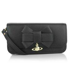 Vivienne Westwood – Small Bow Bag Black - Vivienne Westwood Small Bow Bag Black Handtaschen
