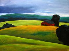 stormy farm painting | Click on any thumbnail to view larger images. Point to top left or ...