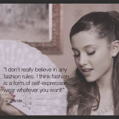 "Ariana Grande as Juliet? How do you get her ""Right There"" video style? Check our blog to find out. http://blog.wantering.com/post/75603065739/ariana-grande-fashion-quote"