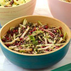 One pot pasta - Anne-Sophie FashionCooking Beignets, Mozzarella, Number Cakes, One Pot Pasta, Granny Smith, Scones, Parfait, Pasta Salad, Serving Bowls
