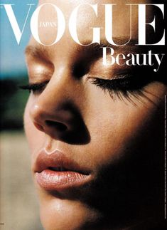 New fashion editorial design magazine vogue covers Ideas Vogue Magazine Covers, Vogue Covers, Mode Chanel, Chanel Iman, Vogue Japan, Vogue Beauty, Fashion Beauty, Vogue Makeup, Beauty Editorial