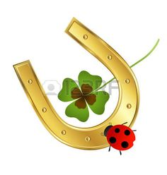 Pinterest Diy Crafts, Clay Flower Pots, Horseshoe Art, Four Leaf Clover, Good Luck, St Patricks Day, Cute Drawings, Birthday Cards, Diy And Crafts