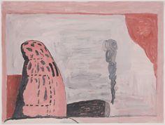 Philip Guston. Untitled (Waiting). (1972)