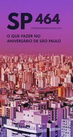 Como você vai comemorar o aniversário de São Paulo em 2018? Confira a melhor programação de eventos para o feriado na quinta-feira, dia 25 de janeiro. Shows, exposições, peças de teatro e eventos gastronômicos para você curtir os 464 anos de SP e tudo o que a cidade tem para oferecer!