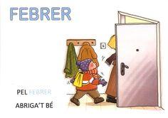 Dita FEBRER P3 Printables, Cards, Meteorology, Alphabet, School, Classroom Setup, Phonological Awareness, Sayings, Languages
