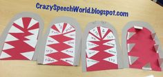 Crazy Speech World: Shark Week {A Craftivity}  Artic and vocab activity for ocean theme