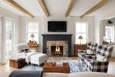 Home Interior Cocina .Home Interior Cocina Modern Fireplace, Fireplace Design, Stone Fireplaces, Luxury Homes Interior, Home Interior Design, Interior Paint, Custom Home Builders, Custom Homes, Victorian Decor