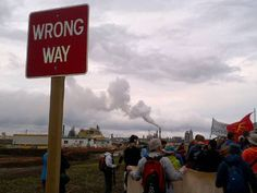 Saturday afternoon at the tar sands in Alberta - The tar sands are the 'wrong way'. America And Canada, The Province, Sands, Climate Change, Fossil, Walking, Vacation, Vacations, Walks