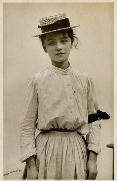 Vintage postcard, 1906.