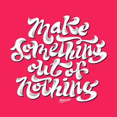 Hand-Lettering by Gustavo Mancini