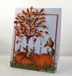 You can see how I made this card by going to my bio and clicking on link in profile.