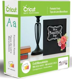 New Cricut Fontastic Fonts Cartridge is available now at Crafts U Love http://www.craftsulove.co.uk/cricut_cartridges.htm