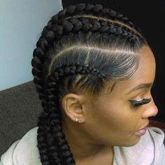 Ghana Braids – Updos, Cornrows, Jumbo & Ponytail , Nowadays, Ghana braids hairstyles have been . Latest Braided Hairstyles, Ghana Braids Hairstyles, French Braid Hairstyles, Braided Hairstyles For Black Women, Braided Hairstyles Tutorials, Braids For Black Hair, Trending Hairstyles, Loose Hairstyles, African Hairstyles