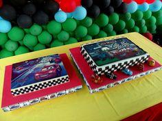 Torta y Gelatina de Cars...