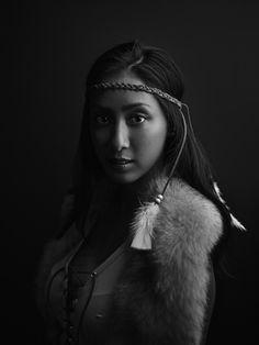 """Steph as """"Pocahontas"""" Long Island City, Queens by Joey Lawrence"""