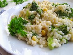 Постигая искусство кулинарии... : Рис с брокколи и сыром (Cheesy Broccoli Rice)