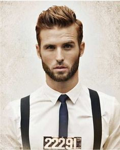 Easy Short Haircut for Men