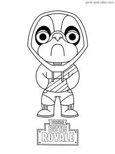 Fortnite coloring pages (With images) | Coloring pages ...