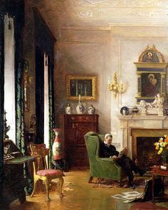 Albert Chevallier Tayler - The Grey Drawing Room 1917 - Victorian decorative arts - Wikipedia, the free encyclopedia