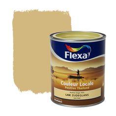 Flexa Couleur Locale lak Positive Thailand zijdeglans Ginger 750 ml