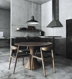 Concrete Walls – Barcelona Modern Loft Apartment