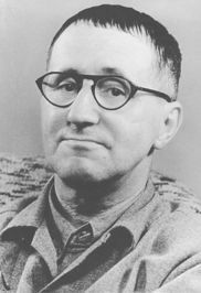 Author of Mother Courage and Her Children, The Threepenny Opera, Galileo, The Caucasian Chalk Circle, The Good Woman of Setzuan, Brecht on Theatre, The Resistible Rise of Arturo Ui, Stories of Mr. Keuner, Poems 1913-1956, and Fear and Misery of the Third Reich