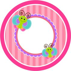 - Oh My Bebé! Butterfly Party, Butterfly Birthday, Butterfly Clip Art, Cute Clipart, Frame Clipart, Candy Bar Labels, Cd Labels, Diy And Crafts, Paper Crafts