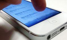Problema no iPhone 5 faz tela travar com movimentos na diagonal