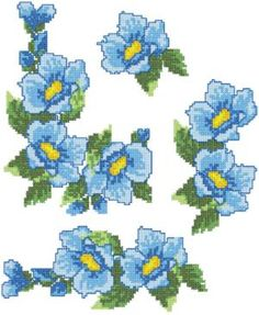 Advanced Embroidery Designs - Periwinkle Linen Set