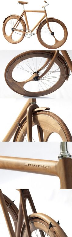 Wooden #Bicycle Prototype | If you are reading this and have the answer, please let me know, ..How do I get one of these, or at least spend my life savings on renting it for an hour, or two?? I would...ya-kno