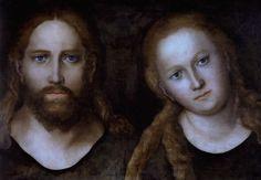 ❤ - LUCAS CRANACH (1472 - 1553) - Christus und Maria Magdalena -1514.   Gotha, Schloßmuseum