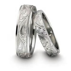 His and Hers wedding rings | Put A Ring on it | Pinterest ...
