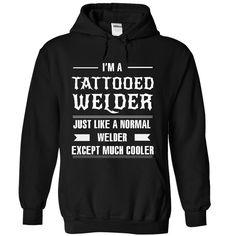 Tattooed Welder