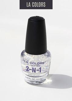 L.A. Colors - Color Craze Nail Polish - 2in1