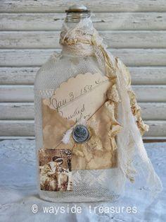 Wayside Treasures: More Altered Bottles