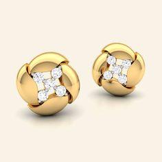 moroccon diamond studs