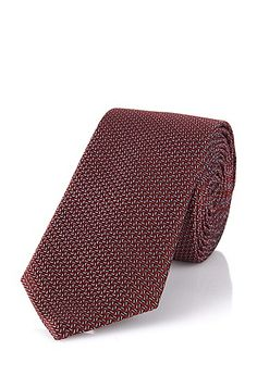Krawatte aus Seide: 'Tie 6 cm' Krawatte aus Seide: 'Tie 6 cm', Rot
