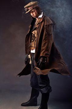 DevilInspired steampunk costume dresses fashion for men