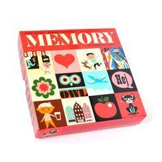 jeu de memory rouge Ingela P. Arrhenius