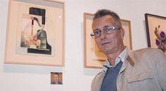 JEAN-MARC HILD 3 El pintor francés expone 60 obras de técnica mixta sobre papel con colaje geométrico.